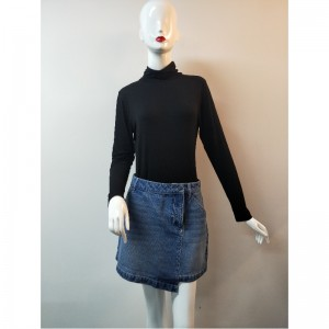 LADIES 'LASH WASH DENIM SKIRT RLWSK0001M